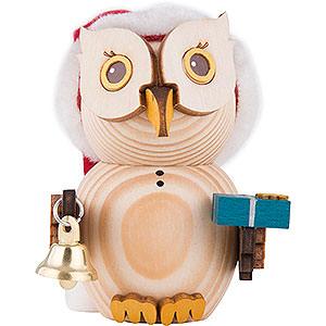 Small Figures & Ornaments Kuhnert Mini Owls Mini Owl Santa - 7 cm / 2.8 inch