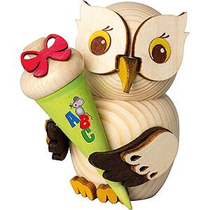 Gift Ideas Back to School Mini Owl School Starter - 7 cm / 2.8 inch