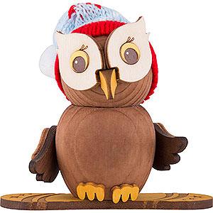 Small Figures & Ornaments Kuhnert Mini Owls Mini Owl Snowboard - 7 cm / 2.8 inch
