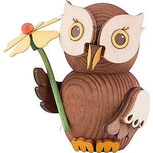 Small Figures & Ornaments Kuhnert Mini Owls Mini Owl Well-Wisher - 7 cm / 2.8 inch