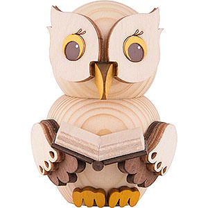 Small Figures & Ornaments Kuhnert Mini Owls Mini Owl with Book - 7 cm / 2.8 inch
