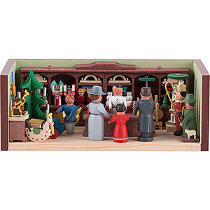 Small Figures & Ornaments Miniature Rooms Miniature Room - Toy Shop - 4 cm / 1.6 inch