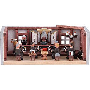 Kleine Figuren & Miniaturen Miniaturstübchen Miniaturstübchen Bergbauliche Betstube - 4 cm