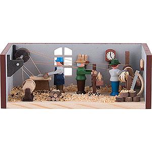 Kleine Figuren & Miniaturen Miniaturstübchen Miniaturstübchen Drehwerk - 4 cm
