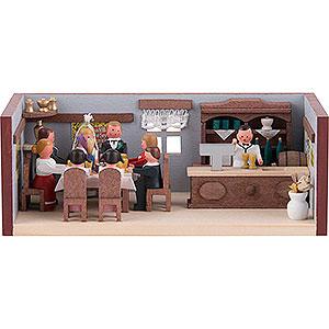 Kleine Figuren & Miniaturen Miniaturstübchen Miniaturstübchen Hochzeitsstube - 4 cm