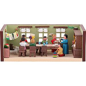 Kleine Figuren & Miniaturen Miniaturstübchen Miniaturstübchen Kindergarten - 4 cm