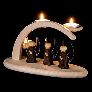 Candle Arches All Candle Arches Modern Light Arch - Angels - 25x13x10 cm / 9.8x5.1x3.9 inch