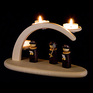 Candle Arches All Candle Arches Modern Light Arch - Carolers - 24x13 cm / 9.4x5.1 inch