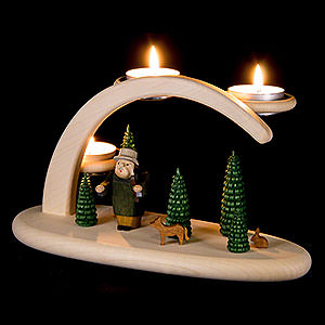 Candle Arches All Candle Arches Modern Light Arch - Forest Scene - 25x13x10 cm / 9.8x5.1x3.9 inch