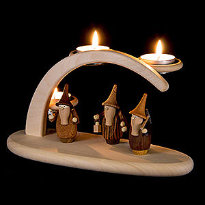 Candle Arches All Candle Arches Modern Light Arch - Gnomes - 25x13x10 cm / 9.8x5.1x3.9 inch