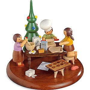 Spieldosen Alle Spieldosen Motivplattform für elektr. Spieldose - Weihnachtsbäckerei - Rolf Zuckowski Edition - 13 cm