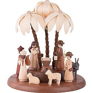 Spieldosen Weihnachten Motivplattform für elektr. Spieldose - Heilige Geschichte - 17 cm
