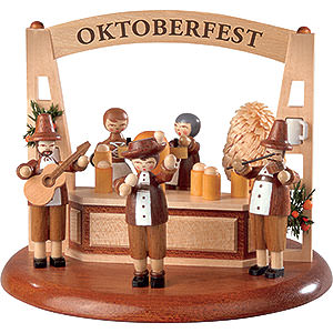 Spieldosen Alle Spieldosen Motivplattform für elektr. Spieldose - Oktoberfest - 13 cm