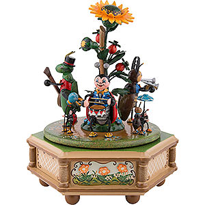 Music Boxes Seasons Music Box Beetle Valley - 20 cm / 8 inch
