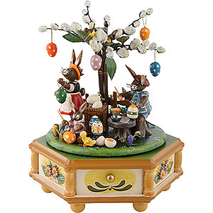 Music Boxes Seasons Music Box Busy Easter Bunnies - 23 cm / 9 inch