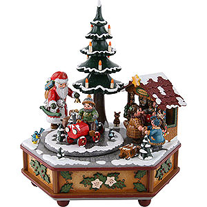 Music Boxes Christmas Music Box Christmas - 22 cm / 9 inch