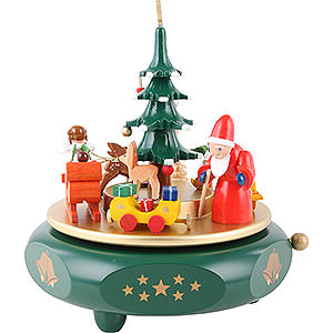 Music Boxes Christmas Music Box Christmas Dreams - 17 cm / 7 inch