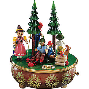 Music Boxes Misc. Motifs Music Box Countryside Excursion