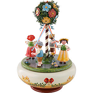 Music Boxes Seasons Music Box Dance in May - 26 cm / 10 inch