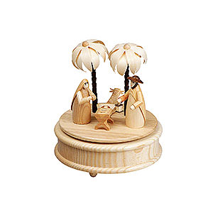 Music Boxes Christmas Music Box Family - 17 cm / 6.5 inch