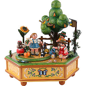 Music Boxes Seasons Music Box Our Little Garden - 20 cm / 8 inch