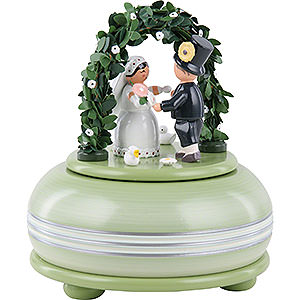 Music Boxes Misc. Motifs Music Box Wedding - 15 cm / 5.9 inch