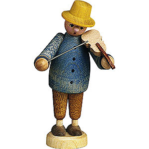 Small Figures & Ornaments Günter Reichel Born Country Musician with Violin - 7 cm / 2.8 inch