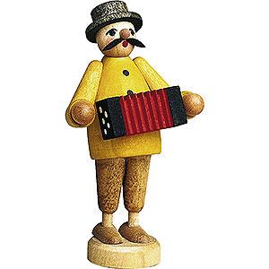 Kleine Figuren & Miniaturen Günter Reichel Figuren vom Lande Musiker mit Ziehharmonika - 7 cm