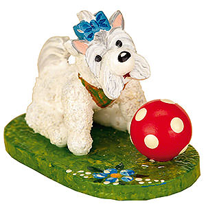 Small Figures & Ornaments Hubrig Flower Kids My Dog - Set of Three - 3 cm / 1 inch