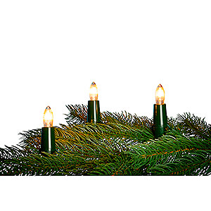 World of Light Light Strings NARVA Candle Arch Chain with 7 Tapered Bulbs