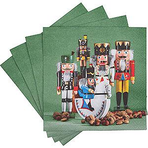 Small Figures & Ornaments Napkins Napkins Nutcracker Parade - 20 pcs.