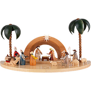 Small Figures & Ornaments All Nativity Figurines Nativity Set - Painted Figurines