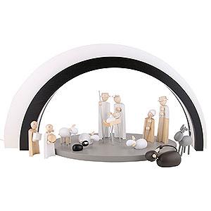 Small Figures & Ornaments Nativity Scenes Nativity Set of 15 Pieces - KAVEX-Nativity