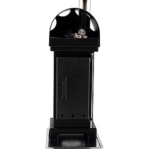Smokers All Smokers Nordic Fire Place Incense Smoker Black - 18 cm / 7 inch