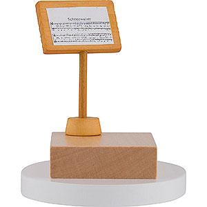 Kleine Figuren & Miniaturen Zenker Schneemänner Notenpult für Schneemann-Dirigent - 7 cm