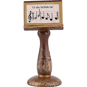 Weihnachtsengel Orchester (Hubrig) Notenständer - 4 cm