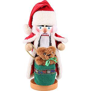 Nussknacker Weihnachtsmänner Nussknacker Alpen Weihnachtsmann - 30 cm