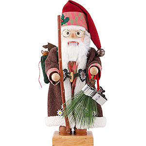 Nussknacker Weihnachtsmänner Nussknacker Alpensanta limitiert - 46 cm