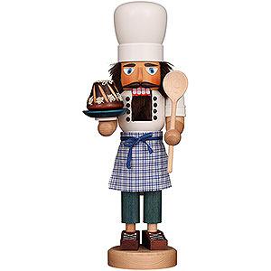 Nussknacker Berufe Nussknacker Bäcker lasiert - 42 cm