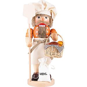 Nussknacker Berufe Nussknacker Bäcker natur - 39 cm