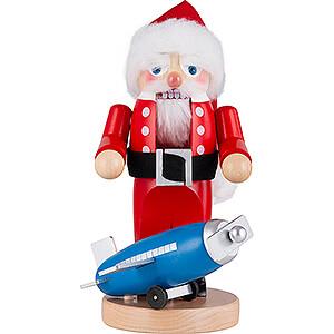 Nussknacker Weihnachtsmänner Nussknacker Chubby Fliegender Weihnachtsmann - 28 cm