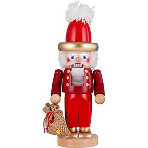 Nussknacker Weihnachtsmänner Nussknacker Chubby Goldener Nikolaus - 35 cm