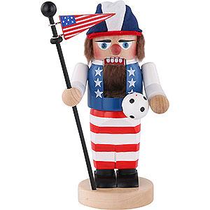 Nussknacker Hobbies Nussknacker Chubby U.S. Fussballspieler - 27 cm
