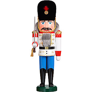 Nussknacker Soldaten Nussknacker Däne weiß - 39 cm