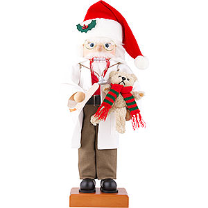 Nussknacker Weihnachtsmänner Nussknacker Dr. Weihnachtsmann Limitiert - 45,5 cm