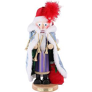 Nussknacker Weihnachtsmänner Nussknacker Eleven Pipers Piping, limitierte Edition - 46 cm