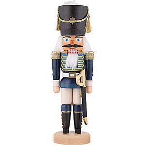 Nussknacker Soldaten Nussknacker Gardesoldat blau lasiert - 44 cm
