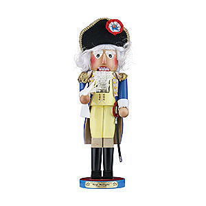 Nussknacker Bekannte Personen Nussknacker George Washington - Limitierte Edition 45,5 cm