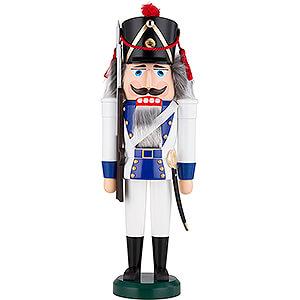 Nussknacker Soldaten Nussknacker Grenadier blau - 39 cm