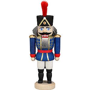 Nussknacker Soldaten Nussknacker Husar blau - 12 cm